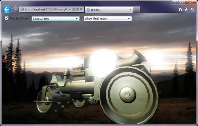 Silverlight 5 brings XNA 3D to the web